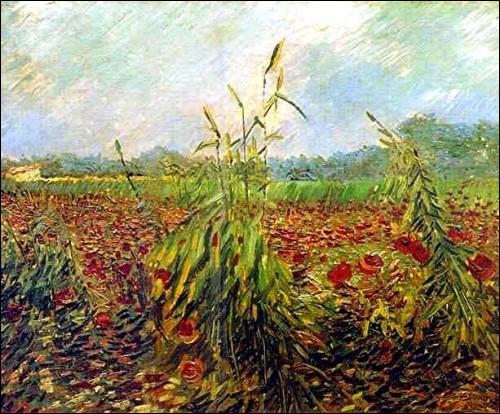 Qui a peint ''Épis de blé vert'' en juin 1888 ?