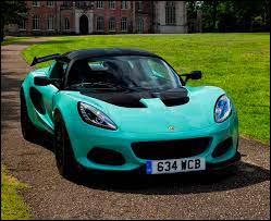 De quel pays est originaire la marque automobile Lotus ?