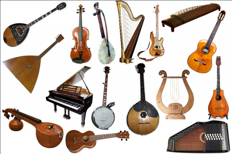Cordophones : lequel de ces instruments n'en fait pas partie ?