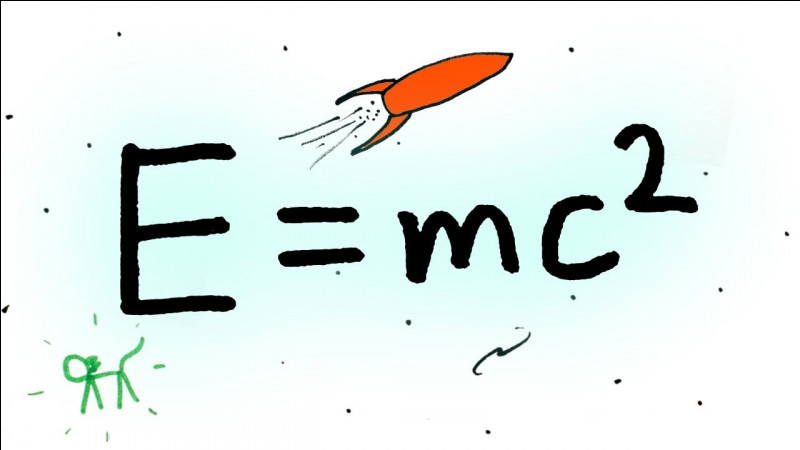 Qui est l'auteur de la formule E = MC2 ?
