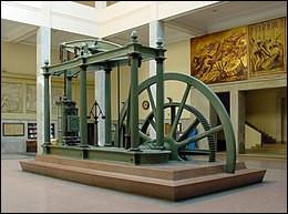 En quelle année a été créée la machine à vapeur de Watt ?