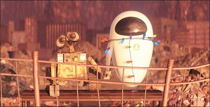 """Dans le film """"WALL-E"""", comment s'appelle le robot blanc se trouvant à côté de Wall-E ?"""