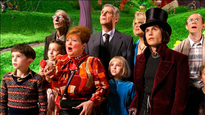 """Dans le film """"Charlie et la chocolaterie"""", que doit-on trouver dans une tablette de chocolat, pour pouvoir participer à la visite de la chocolaterie ?"""