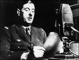Dans quelle ville l''appel du 18 juin du général de Gaulle a-t-il été prononcé ?