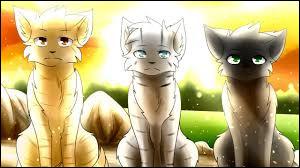 """La prophétie """"Ils seront trois, parents de tes parents, à détenir le pouvoir des étoiles entre leurs pattes"""" parle de trois chats. Qui pensent-ils être ?"""