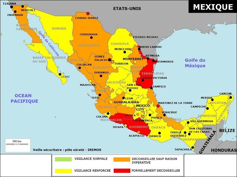De combien d'Etats le Mexique se compose-t-il ?