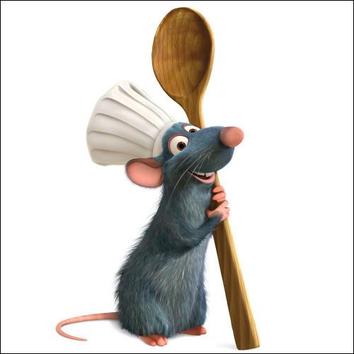 Quel est le prénom du rat français passionné par la cuisine, travaillant dans le restaurant du célèbre chef Auguste Gusteau ?