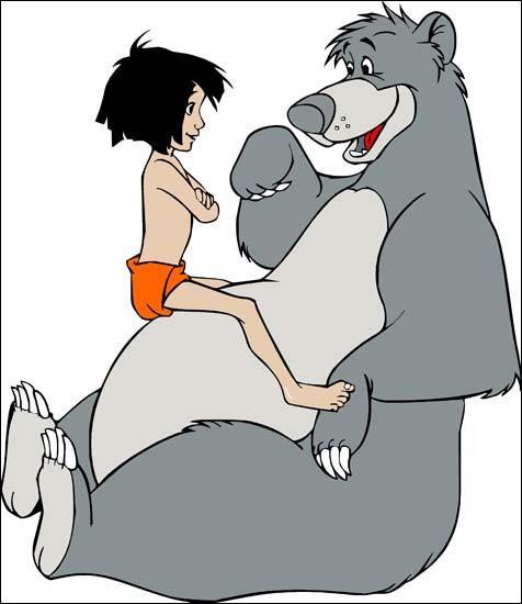 Comment s'appelle ce petit garçon abandonné dans la jungle indienne dont le meilleur ami est l'ours Baloo ?