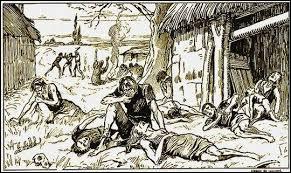 Quel est le premier fléau à s'abattre sur la France, au début du XIVe siècle ?