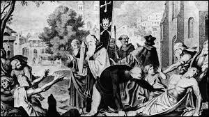 Quelle est la première grande ville française touchée par la peste noire ?