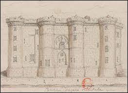 Quelle est la fonction de la Bastille au moment de sa construction ?
