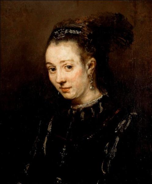 """Qui a peint """"Portrait d'une jeune fille"""" ?"""