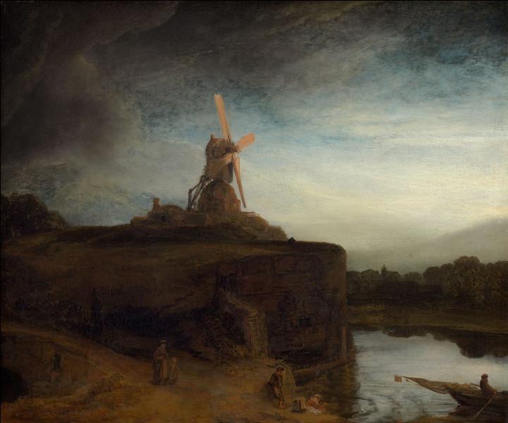 """Qui a peint """"Le Moulin"""" ?"""