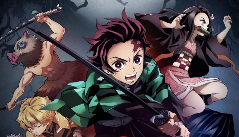 Quel sont les personnages principaux de ''Kimetsuno Yaiba'' ?
