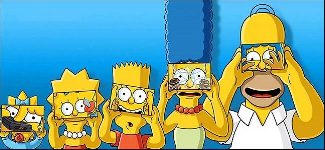 Marge, Lisa, Maggie, Homer et Bart ont 2 animaux. Lesquels ?