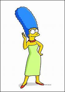 De quelle couleur sont les yeux de Marge ?