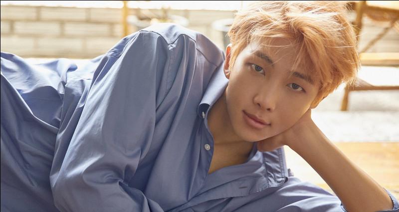 C'est le leader de quel groupe de K-pop ?
