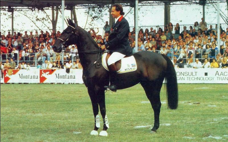 Comment s'appelle ce cheval de légende ?
