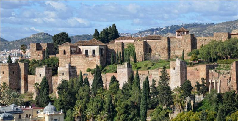 Vous irez en Espagne, à Malaga, pour voir ce château :