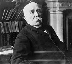 En quelle année Georges Clemenceau est-il mort ?