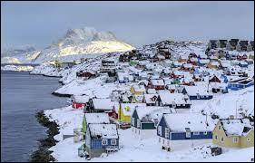 Quelles sont les deux couleurs du drapeau du Groenland ?