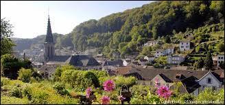 Dans quel département français se situe la ville de Plombière-les-Bains ?