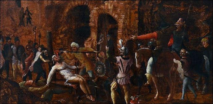 En - 53, Marcus Licinius Crassus > La mort de ce consul romain, réputé pour son avidité, est due aux Parthes qui, selon l'historien Dion Cassius, ... (Complétez !)