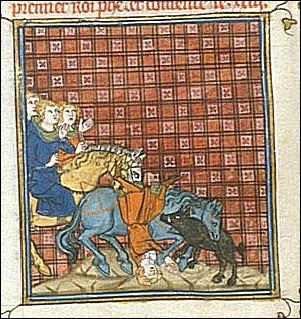 1131, Philippe de France > Le fils de Louis VI le Gros meurt des suites d'une chute de cheval : mais pourquoi ?