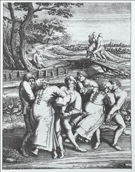 Temps modernes : Juillet 1518, l'épidémie de Strasbourg (Saint-Empire romain germanique) > 400 personnes auraient souffert d'un mal étrange - certaines en décédèrent - , appelé par la suite...