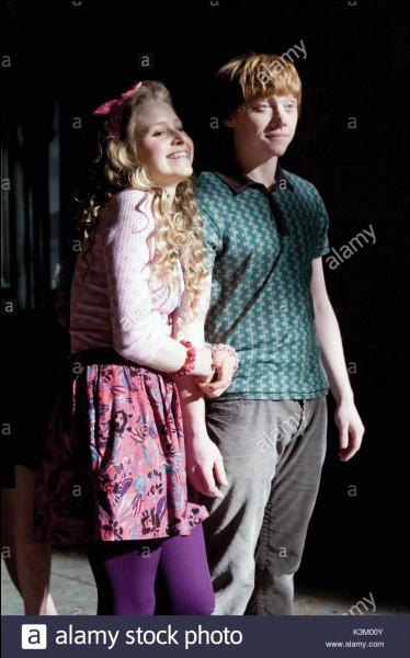 Qui sont les amis les plus proches de Ginny Weasley ?