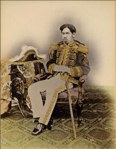 Qualifie l'ère japonaise qui débute en 1868 et se termine en 1912 :