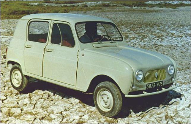Est-ce le modèle éphémère Renault 3 de 603 cm3, lancé pour concurrencer la 2cv Citroën ?