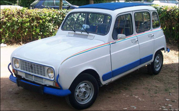 Est-ce la Renault 4 série spéciale Cocorico de 845 cm3 ?