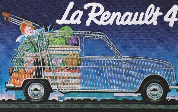 Les 60 ans de la Renault 4