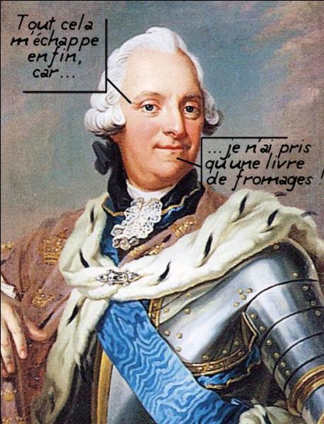 1771, Adolphe-Frédéric de Suède > Ce beau-frère du roi de Prusse a du mal à digérer un repas simple : homards, caviar, choucroute, harengs et poissons fumés, le tout arrosé de champagne. Qu'est-ce qui n'est pas passé, alors ?