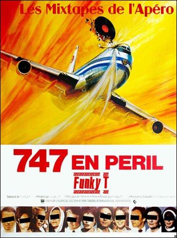 """Qui accompagne Gloria Swanson dans le film """"747 en péril"""" ?"""