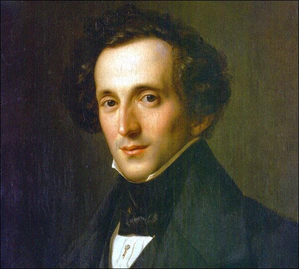 """Né en 1809, il compose l'ouverture du """"Songe d'une nuit d'été"""" à 17 ans durant l'été 1826 ; puis la symphonie n°4 en la majeur """"Italienne"""", quatre ans plus tard. Il s'agit de ..."""