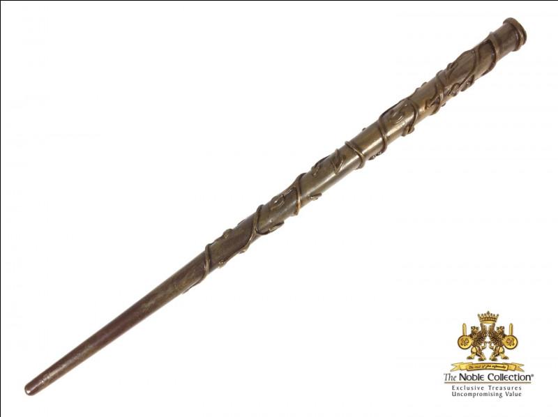 La baguette de Ginny est du même bois que celle de...