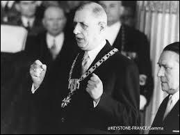 Qui a succédé à Charles de Gaulle à la présidence de la République en 1969 ?