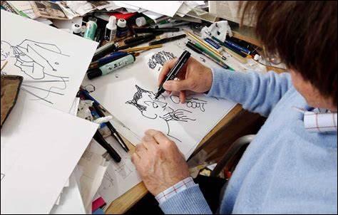 Quel créateur de film d'animation et de bande dessinée est venu pour signer des dédicaces ?
