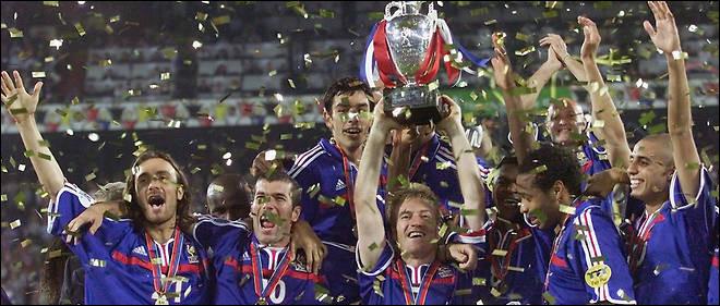 En quelle année la France a-t-elle gagné l'Euro de football ?