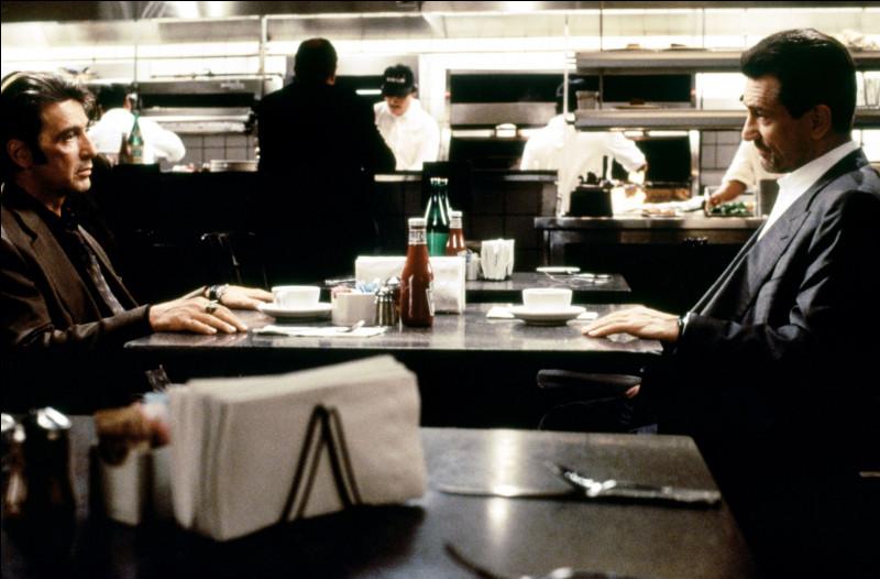 Quel est ce film avec Robert De Niro et Al Pacino ?