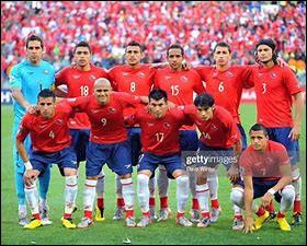 Quelle est cette équipe nationale de foot ?