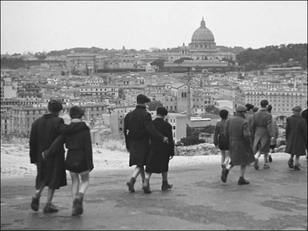 """À quel réalisateur italien doit-on le film """"Rome, ville ouverte"""" ?"""