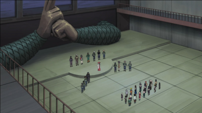 Comment s'appellent les examens des ninjas ?
