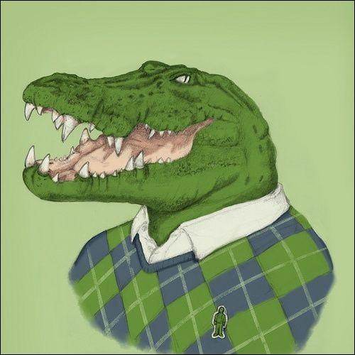 Pourquoi est-ce que les crocodiles vont en prison ?