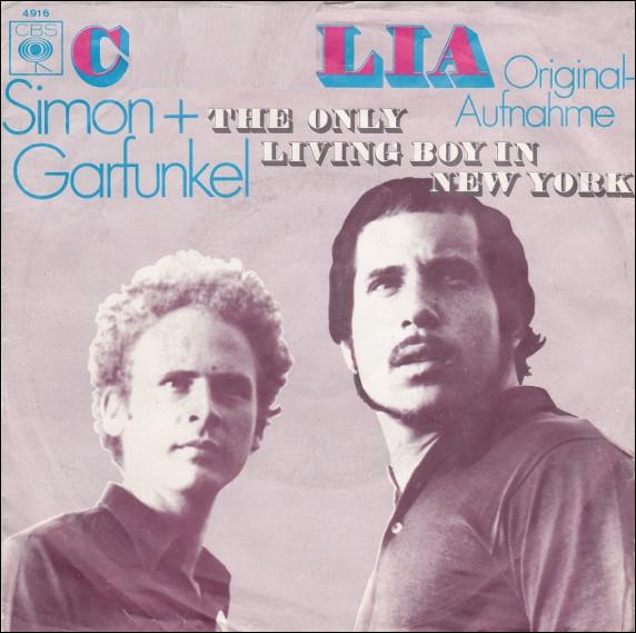 Quel prénom est mis à l'honneur dans une chanson de Simon et Garfunkel de 1970 ?