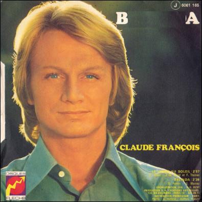 Quel prénom est mis à l'honneur dans une chanson de Claude François de 1972 ?