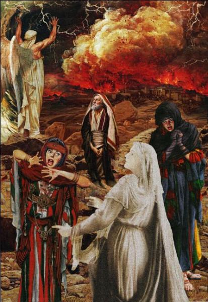 Dans la Bible cette cité sera détruite par Dieu sous un déluge de boules de feu. Quelle est-elle ?