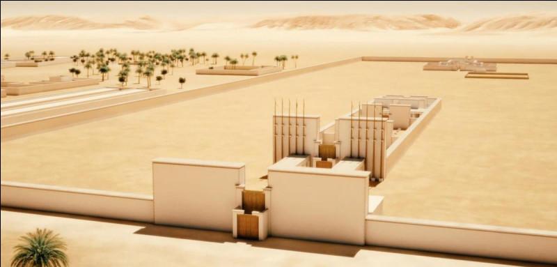 Cette cité éphémère du pharaon hérétique Akhenaton sera totalement abandonnée et s'autodétruira avec les siècles. Quelle est-elle ?